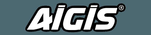 Le logo Aigis, bardage en PVC