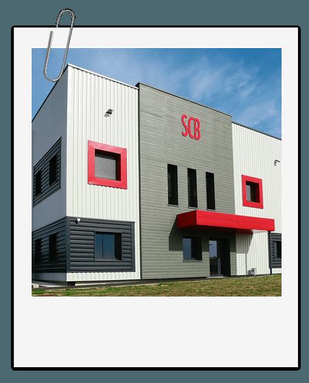 Les locaux de l'entreprise SCB