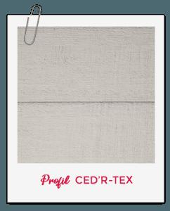 Bardage CanExel Profil Ced'R-Tex