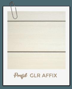 bardage PVC Aigis GLR AFFIX