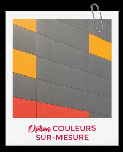 Les panneaux Swisspearl aux couleurs sur-mesure