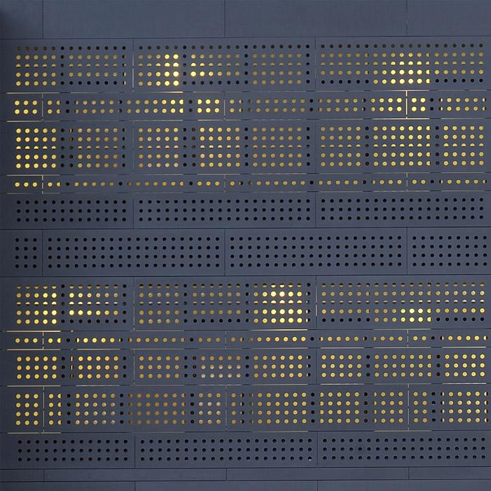 Option brise vue pour les panneaux Swisspearl