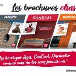 SCB 30 ans la série, nouvelles brochures